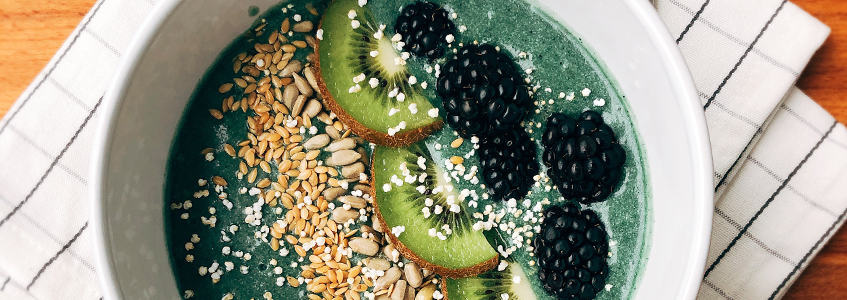 Zielone Smoothie Bowl (z BEAUTY DETOX)